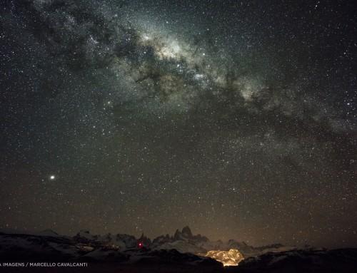Via Láctea patagônica