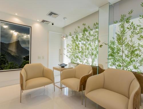 Clínica CECOL Ipanema – Sala de espera